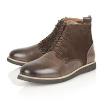 Drake lace-up ankle boots