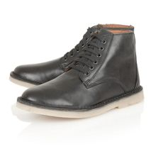 Wall lace-up boots