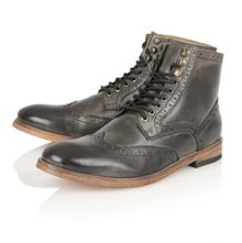 Whitby lace-up boots