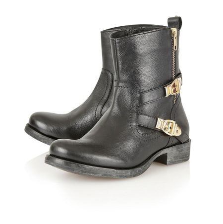Ravel `65 Demetria leather ankle boots