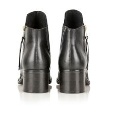Kasas leather ankle boots