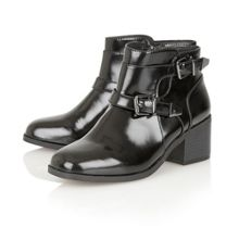 Ravel Maine high shine ankle boots
