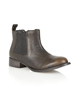 Maryland leather ankle boots
