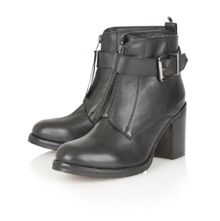 Michigan leather ankle boots