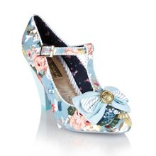 Kimberly floral mary-jayne shoes