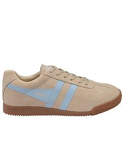 Harrier suede ladies trainers