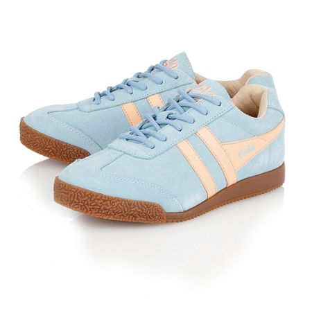 Gola Harrier suede ladies trainers