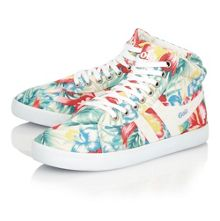 Lily hibiscus ladies trainers