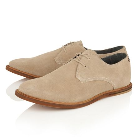 Frank Wright Sheen Lace Up Casual Oxford Shoes