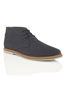 Barrow Lace Up Casual Desert Boots