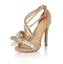 Houston ladies heeled sandals