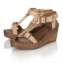 Hibbing ladies wedge sandals