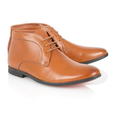 Frank Wright Reid Mens Lace-Up Boots