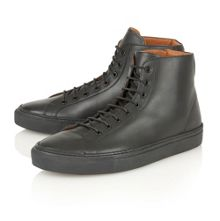 Frank Wright Logan Hi-top Trainers