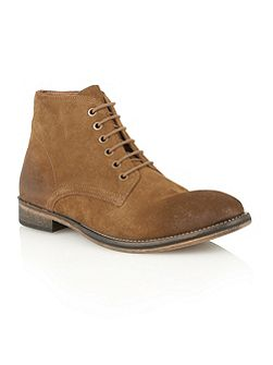 Frank Wright Oval Mens Lace-Up Boots