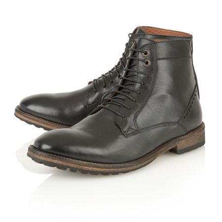 Frank Wright Action Mens Lace-Up Boots