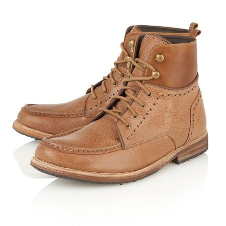 Frank Wright Angel Mens Lace-Up Boots