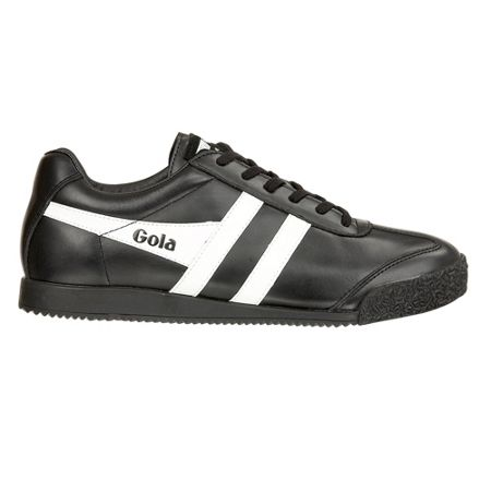 Gola Harrier leather black/white trainers
