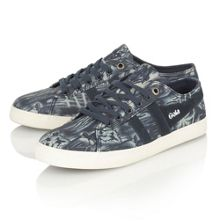 Jasmine pacific retro floral trainers