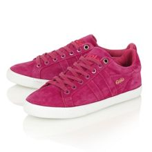 Orchid dark berry trainers
