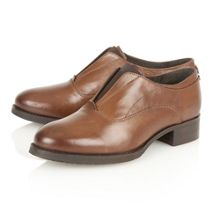 Charlotte leather brogues