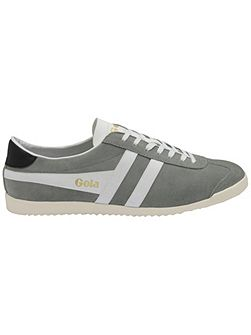 Bullet suede lace up trainers