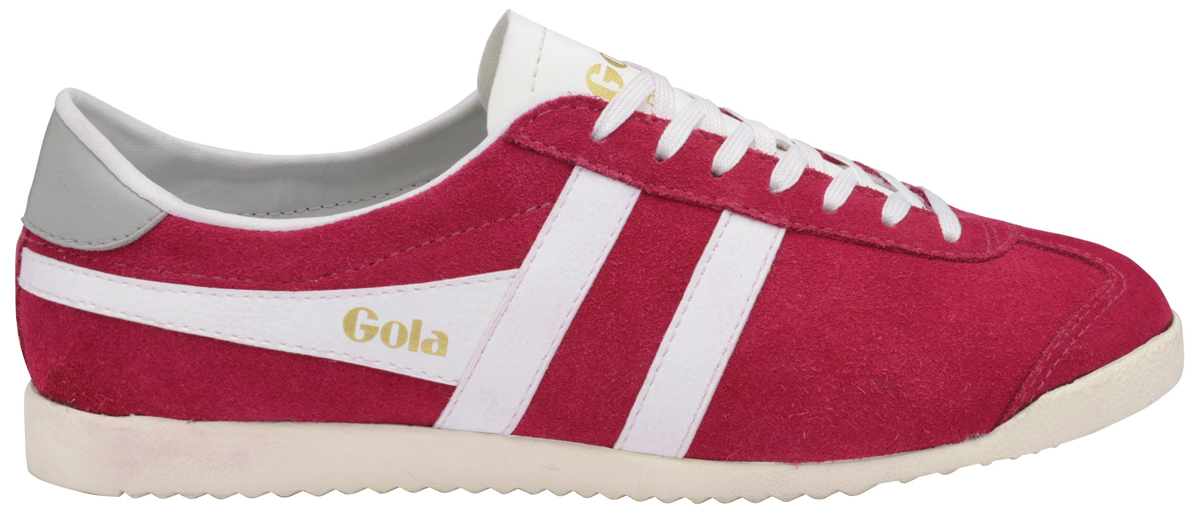 Gola Gola Bullet suede lace up trainers, Fuchsia