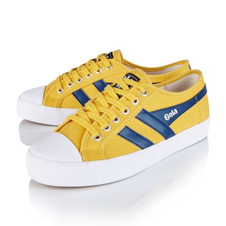 Gola Coaster lace up trainers