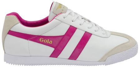 Gola Harrier leather lace up trainers