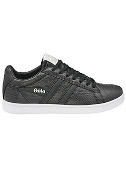 Equipe snake lace up trainers