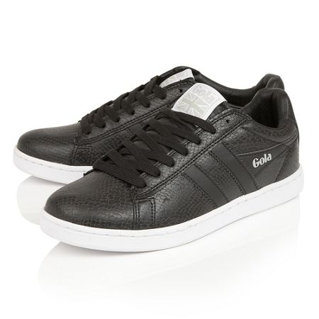 Gola Equipe snake lace up trainers