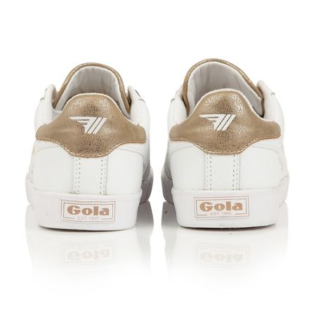 Gola Orchid metallic lace up trainers