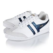 Gola Harrier glitter lace up trainers