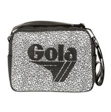 Gola Redford metallic geo messenger bag