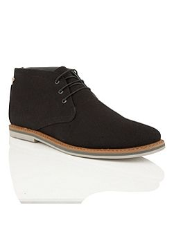 Barrow Mens Lace Up Boots