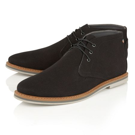 Frank Wright Barrow Mens Lace Up Boots