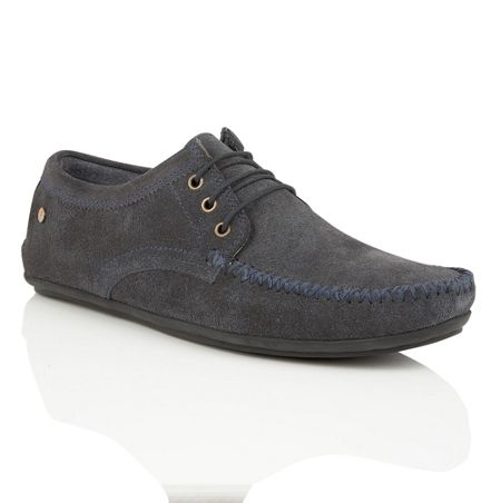 Frank Wright Barts Mens Lace Up Loafers