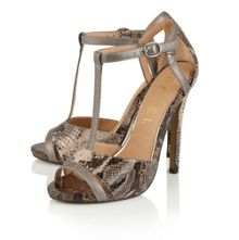 Ravel Mobile stiletto heeled sandals