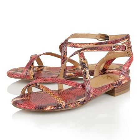 Ravel Saratoga flat strappy sandals