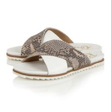 Ravel Westford flat open toe sandals