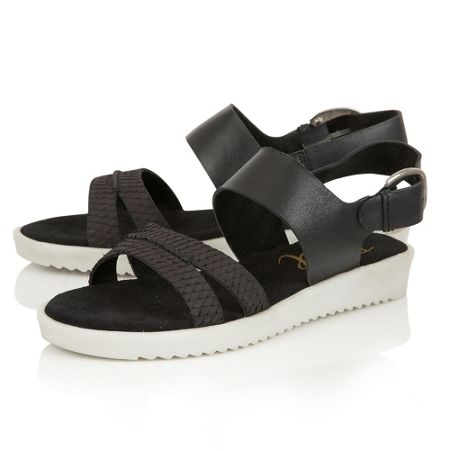 Ravel Norwell heeled strappy slip on sandals
