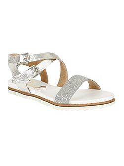 Torrington heeled slip on sandals