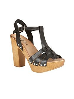 Berwick block heeled platform sandals