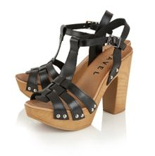 Ravel Berwick block heeled platform sandals