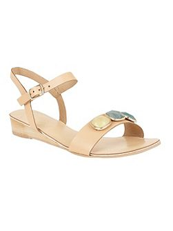 Goldendale slip on open toe sandals