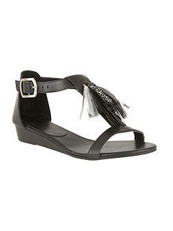 Astoria slip on open toe sandals