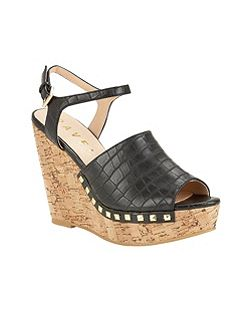 Tacoma cork wedge heel sandals