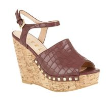 Ravel Tacoma cork wedge heel sandals