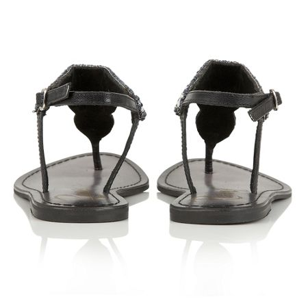 Ravel Langlois block heeled open toe sandals