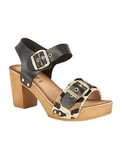 Rutland block heeled platform sandals